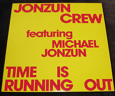 Jonzun Crew featuring Michael Jonzun - Time is running out  US 12""