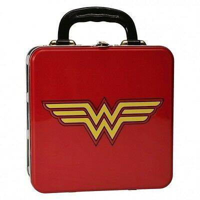 Brotdose Wonder Woman aus Metall Lunchbox Wonder Woman Logo Vesperbox Frau
