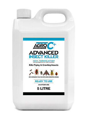 Bed Bug Treatment Spray Poison Killer Treatment Expert Pest For Bedbugs 5L