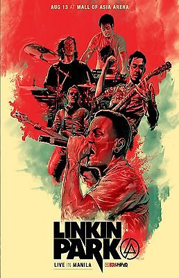 Linkin Park 11x17 Music Poster picture print on glossy thick card stock paper.