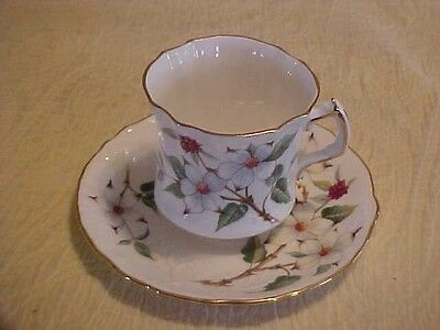 Hammersley Bone China Dogwood Blossom Cup & Saucer