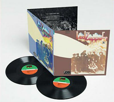 LED ZEPPELIN II 2 DELUXE EDITION 2 x 180gm Vinyl LP Remastered 2014 NEW & SEALED