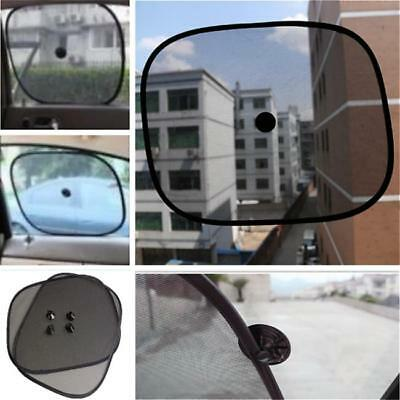 2pcs Black Kids Baby Child Car Window Sun UV Protection Mesh Sun Blind Shades J