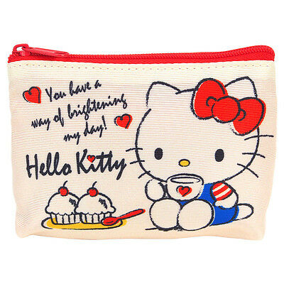 Sanrio Hello Kitty Coin Pouch with Key Ring 9-6822-1 KT Registered Shipping