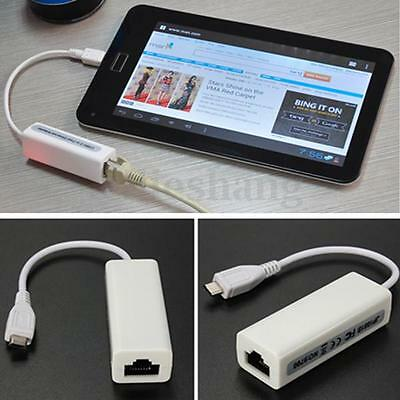 5-Pin Micro Usb 2.0 A Rj45 Lan Ethernet Network Adattator Per Android Tablets Pc