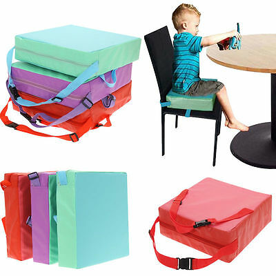 Children Kids Toddler Increased High Chair Seat Pad Safe Booster Dining Cushion