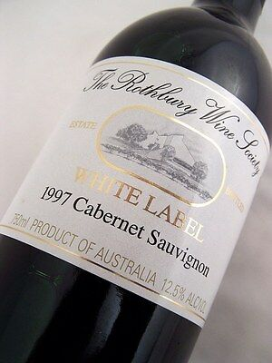 1997 ROTHBURY ESTATE White Label Cabernet Sauvignon Isle of Wine