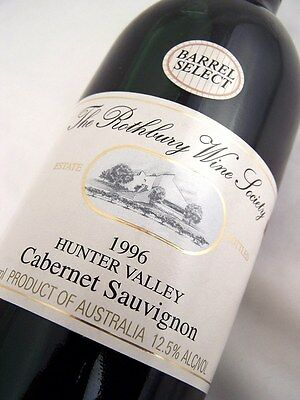1996 ROTHBURY ESTATE Barrell Select Cabernet Sauvignon D Isle of Wine