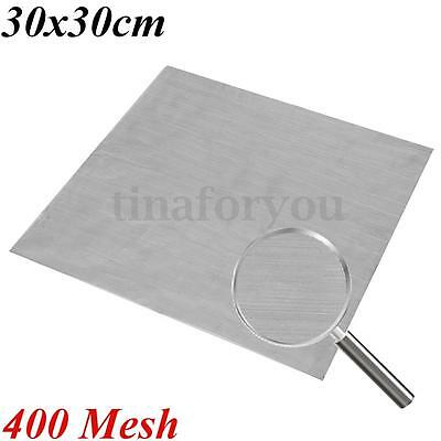 Stainless Steel 400 Mesh Water Oil Industrial Filtration Woven Wire 30x30cm