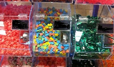 """12"""" w x 12"""" deep x 10"""" high candy bin manufactured out of 3/16"""" acrylic"""