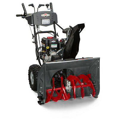 """Briggs & Stratton 1696619 Dual-Stage 27"""" Wide 250cc Electric Start Snow Thrower"""