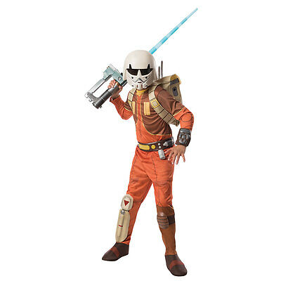 Boys Deluxe Ezra Star Wars Halloween Costume