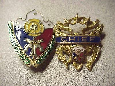 Early Philipines Chief of Police Badges