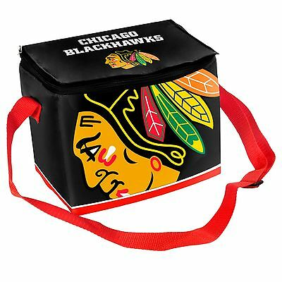 Chicago Blackhawks Insulated soft side Lunch Bag Cooler New NHL - BIg Logo
