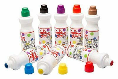 Scola Chubbi 75ml x 8 Paint Markers