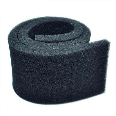 Biochemical Filter Foam Pond Aquarium Filtration Fish Tank Sponge Pad Black