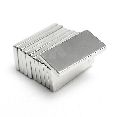 10/20/50/100Pcs Neodymium Block Square Magnet Super Strong Rare Earth New