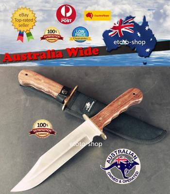 Huge 14.25 inch Winchester Fixed Blade Knife Large Bowie Camping Hunting Knife