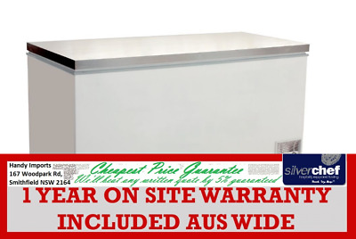 Fed Commercial Chest Freezer With Ss Lids Horizontal Freeze Supermarket Bd768F