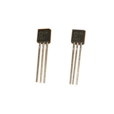 10*2N5457 The TO-92 Low Level Audio Amplifier Switching N-Channel Transistors K2