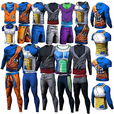Dragon Ball Z Goku Vegeta Short/Long Pants T-Shirt Tank Top Sleeveless Hoodie