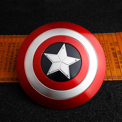 19cm Metal Rotatable Captain America Shield Cosplay Model Alloy Prop In Box Gift