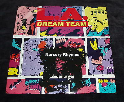LA Dream Team - Nursery rhymes   UK 12""