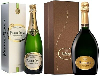 Champagne Mixed Pack (2 x 750mL Giftboxed), Champagne, France.