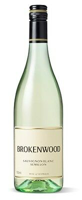 Brokenwood Sauvignon Blanc Semillon 2015 (6 x 750mL), SE AUS.