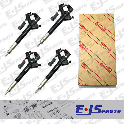 NEW 4 x Common Rail Diesel Injectors 295900-0110 for TOYOTA 2.2 D4D D-CAT