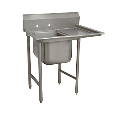 "Advance Tabco T9-1-24-18R 16"" Regaline 1-Compartment Sink"