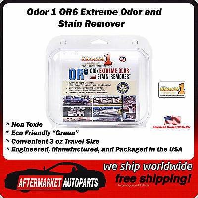 Odor 1 OR6 Extreme Odor and Stain Remover 3 Oz Travel Size Spray