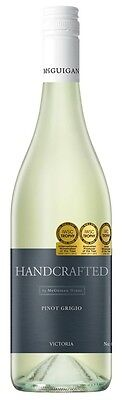 Handcrafted by McGuigan Pinot Grigio 2014 (6 x 750mL), VIC. • AUD 69.89