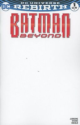 Batman Beyond 1 Blank For Sketch Variant Nm