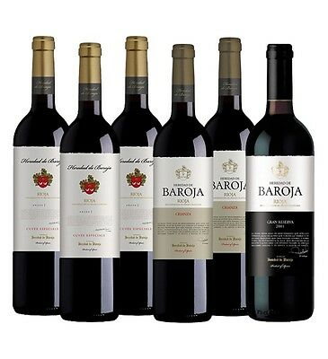 Heredad de Baroja Rioja Mixed Pack (6 x 750mL), Spain.