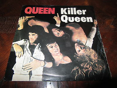 QUEEN KILLER QUEEN Mega Rare Italy 1975 Holy Grail 45