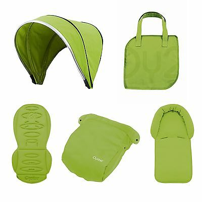 BabyStyle Oyster 2 and Oyster Max Pushchair / Stroller Colour Pack - Lime