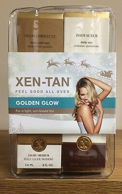 Xen-Tan Bronzed Beauty Gift Set With 236ml Transform Luxe And Body Scrub 236 Ml