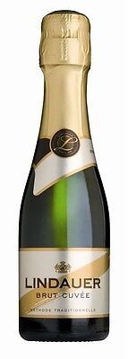 Lindauer Brut Cuvée NV (24 x 200mL piccolo), NZ.