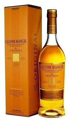 Glenmorangie `The Original` Single Malt Scotch Whisky (6 x 700mL giftboxed)