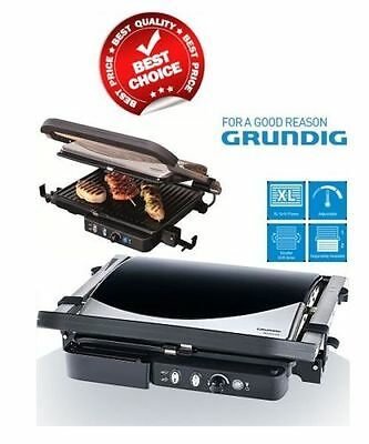 New Grundig Cg5040 Contact Health Grill Family Sized Pannini