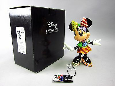 Romero Britto MINNIE MOUSE Figurine 4023846 Disney Showcase Collection