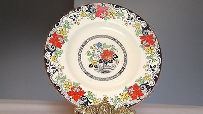 "Woods & Sons Ivory Ware Norbury 9"" Luncheon Plate"