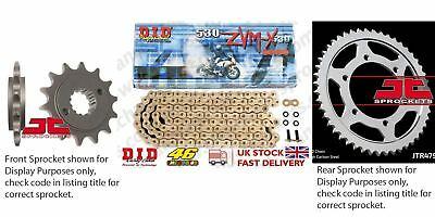 DID- Super Gold X Ring Motorcycle Kit fits Suzuki GSF1250 S Bandit (ABS) 07-11