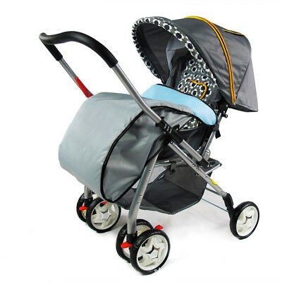 Universal Blue Baby Footmuff/cosy Toes/warmer Buggy Puschair Stroller Pram