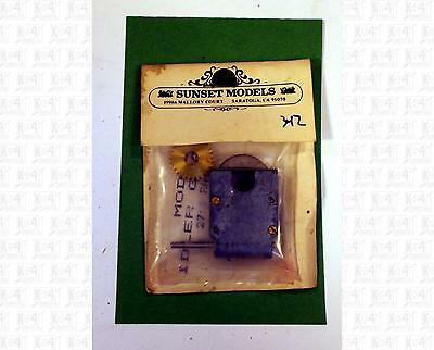 Sunset Models O Parts: 27:1 Gearbox For Steam Locomotive