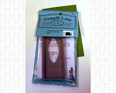 Grandt Line G 1:24 Parts: Door With Oval Window and Two Light Transom 3941