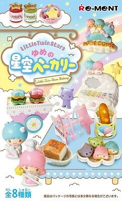 Re-ment Miniature Sanrio Little Twin Stars Dream of Starry Sky Bakery set of 8