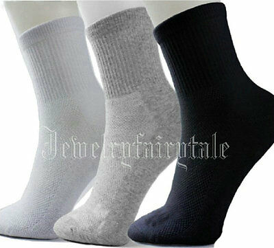 Lot 5/10 Pairs Women Men's Socks Warm Thermal Casual Soft Cotton Sport Sock
