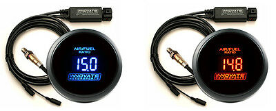 #3795 INNOVATE MOTORSPORTS LC-2 DB BLUE Wideband Air/Fuel AFR Gauge Kit